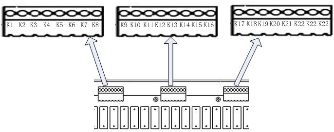 需要注意的是,A-RS881主机RS485总线采用的是非标准协议,只支持与主机完成协议对接后外设进行数据通信,对于需要和A-RS881进行通信的外设,则必须要进行专门的协议对接工作。 3.7系统通信端口接线说明 A-RS881客控一体机存在两类通信方式:一类为CAN总线通信,一类为TCP/IP通信,两种通信方式接线方式不同。 CAN总线接口定义:  A-RS881客控一体机在TCP/IP通信接口上采用通用的RJ45连接器进行连接(A类、B类线序均可)。 4、功能说明 上面介绍了A-RS881客控一体机的所