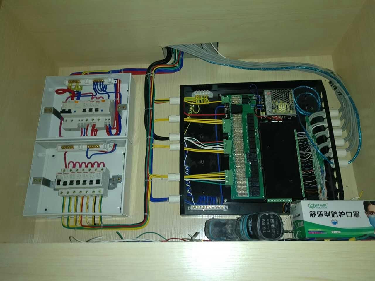 普杰客控系统接线图