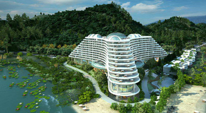 云南大理半岛酒店