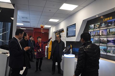 南京市江宁区副区长米永强一行人访问普杰科技