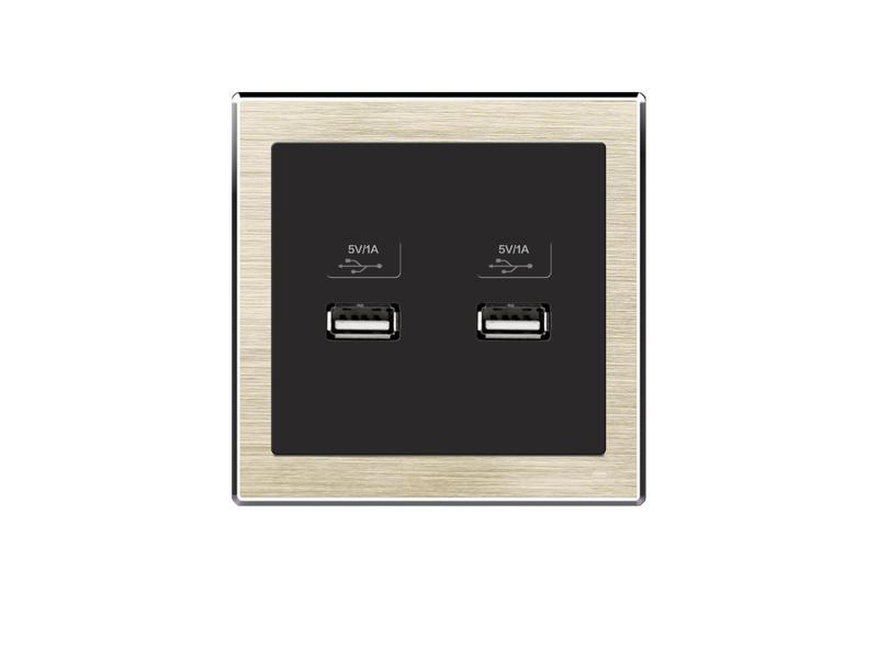 双USB插座