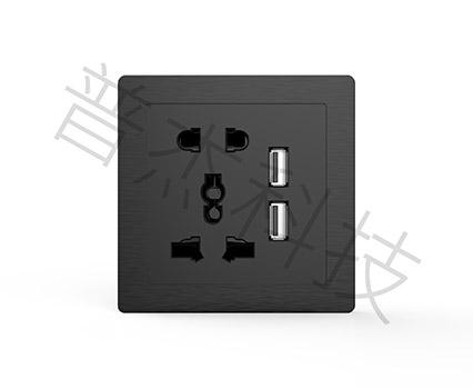 3.0面板-五孔双USB