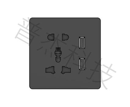 3.0pro-五孔USB面板